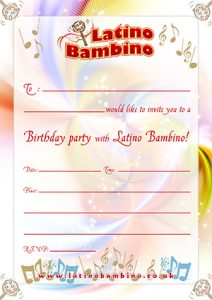 Party Invitation Thumb