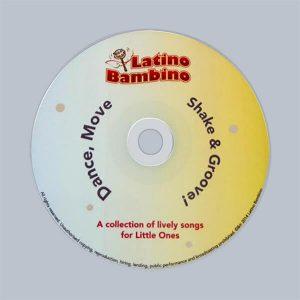 Latino Bambino Music CD