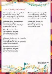Lyrics - This is My Body
