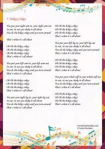 Lyrics - Hokey Cokey